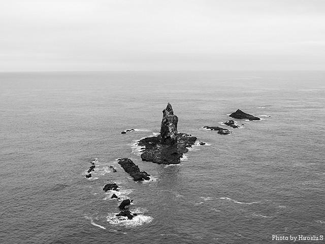 神威岬 神威岩