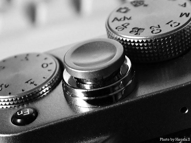X20に装着しているレリーズボタン