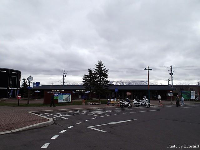 ニセコ 道の駅 農産品を販売しており、非常に活気のある道の駅といえる。