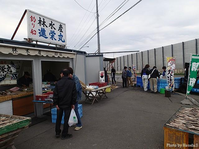 雰囲気は厚田の方が好きだけど、売られている物は石狩も魅力的です。