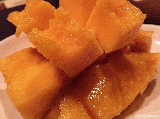 西表産マンゴー これは手土産で持ち帰ったもの。