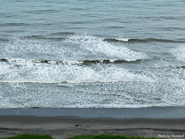 波そのものより、濁りが大敵だ。