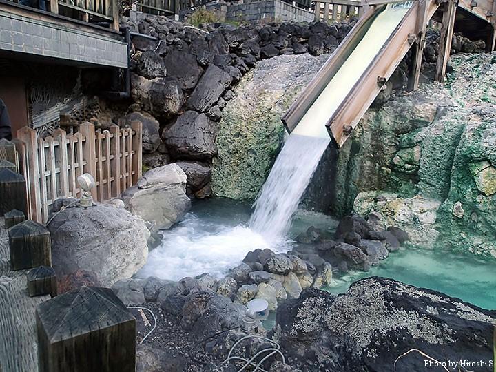 草津温泉 湯畑 豊富な湯量を誇る名湯