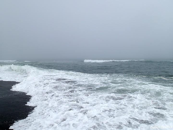 写真ほど条件は悪くない 波も濁りも良かったのだが