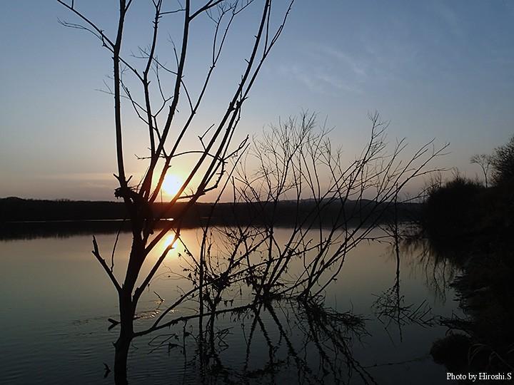 夕刻3時には、こんな景色が目の前に広がるのだ。