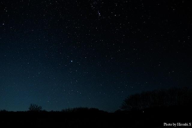 十勝川下流域の夜景