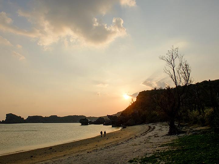 浜比嘉島のサンセット