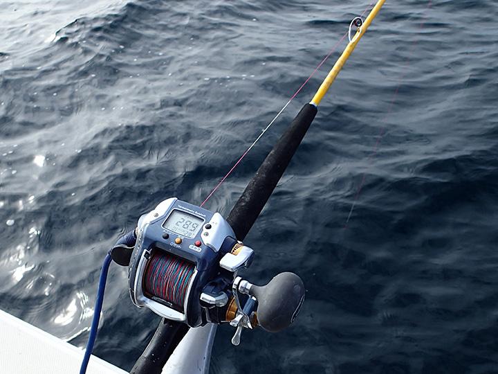 海釣りの道具はロッド数本とこのリールのみ 滅多に行かないから十分と言えば十分である