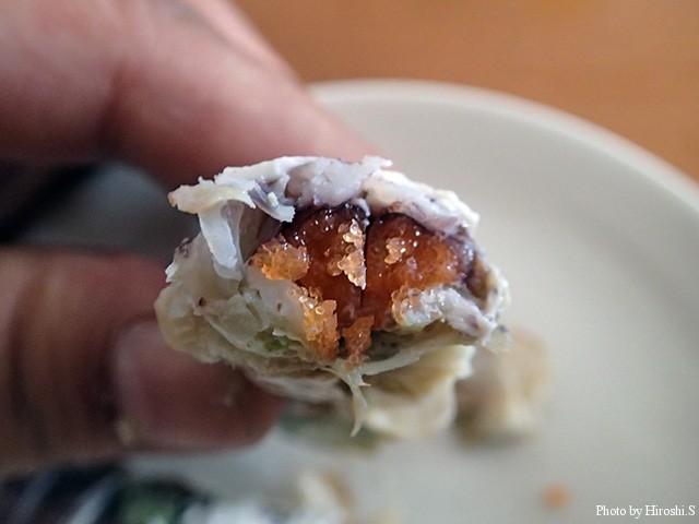 カツブシもびっちりの蝦蛄