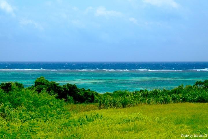豊原付近の海