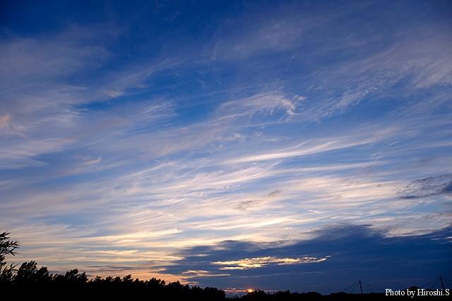 空の雲は秋の気配を感じる