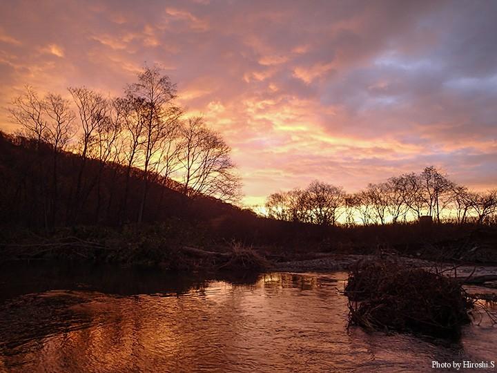 道東へ行く予定を変更して、道南の渓流を訪れた。