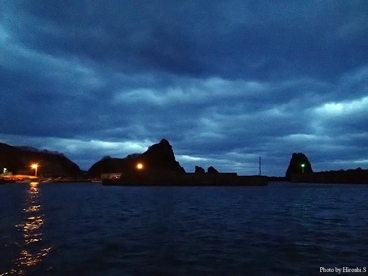 道南の某漁港 何度か訪れている釣り人であれば、場所がどこかは即答であろう。