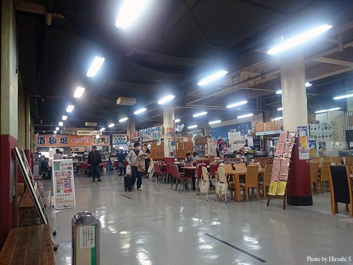 牧志公設市場にて