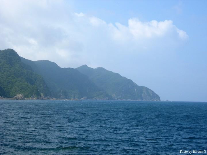 天草 宮津付近の海