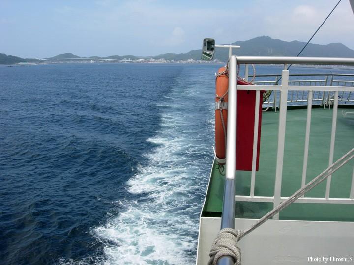 天草から鹿児島方面へのルートは海路もある