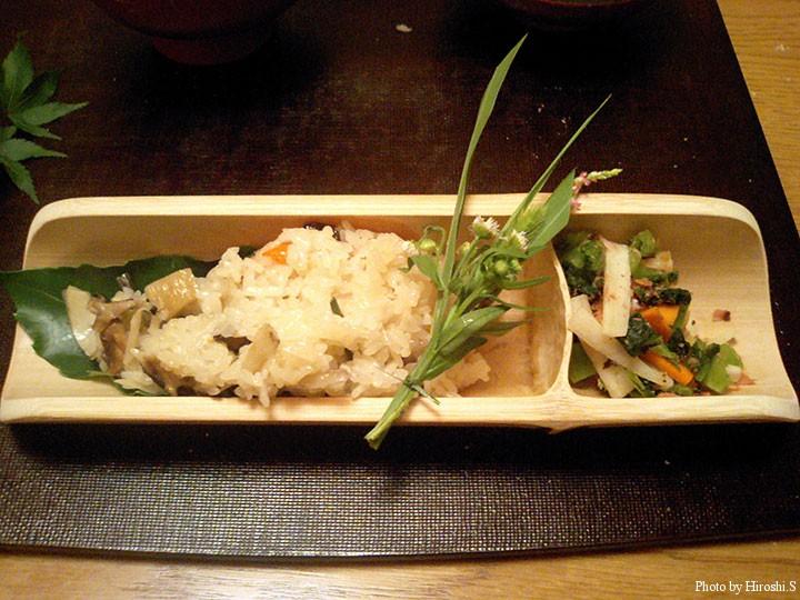 山菜ごはん
