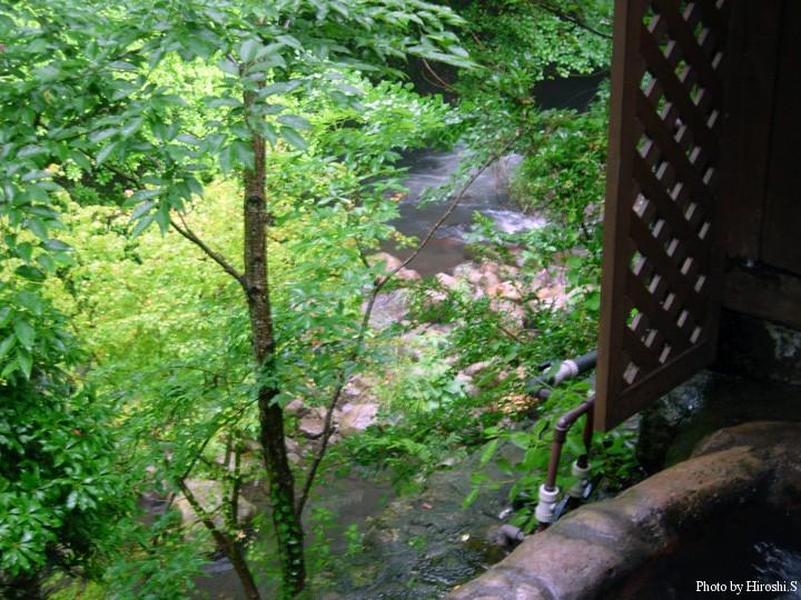 黒川温泉 山みず木にて