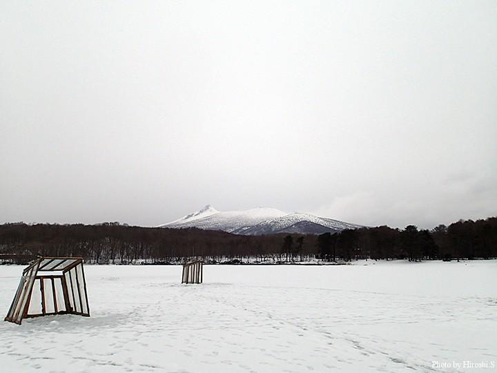 晴れていれば良かったのだが、それでも駒ヶ岳の勇姿を観る事が出来た。