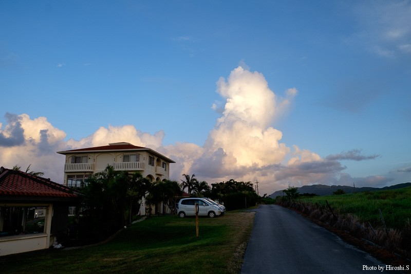 西表島 ラティーダ西表 日差しが降り注ぐまでの時間は比較的快適だ