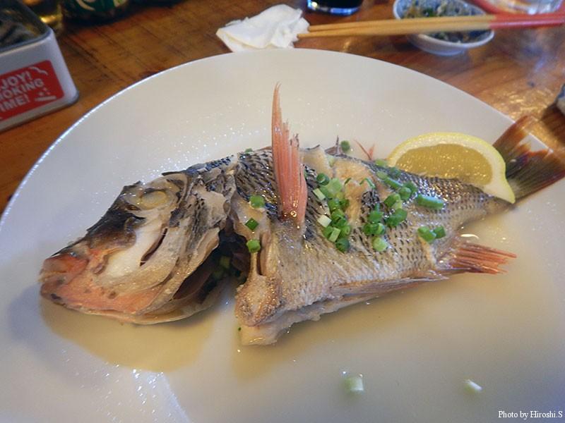 西表島 レストラン・バー 字南風見 マース煮(クチナジ:イソフエフキ)