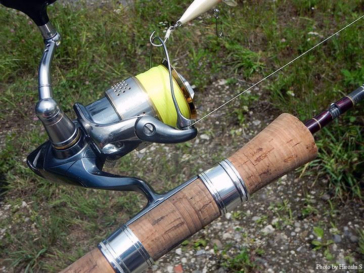 過去に古いUFMのロッドを入手し、今回の釣りでシェイクダウン