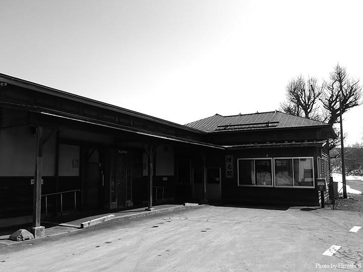 増毛駅 廃止後も恐らくは駅舎は残されると思うが、本来の機能を失った建物は寂しさを感じるだけかもしれない。